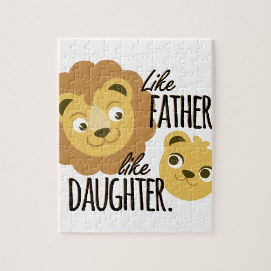 Father Daughter Jigsaw Puzzle