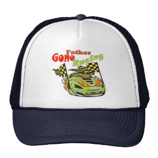 Father Gone Racing Gifts Cap