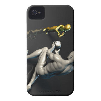 Father Imparting Wisdom to His Child or Son iPhone 4 Case-Mate Case