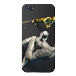Father Imparting Wisdom to His Child or Son iPhone 5/5S Case