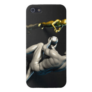 Father Imparting Wisdom to His Child or Son iPhone 5/5S Covers
