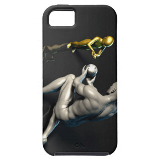 Father Imparting Wisdom to His Child or Son Tough iPhone 5 Case