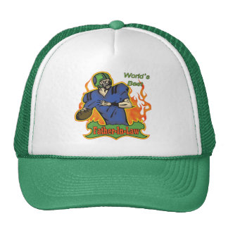 Father-in-law Football Tees and Gifts Cap