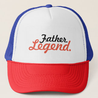 Father. Legend. Trucker Hat