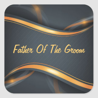 Father Of Groom Sticker