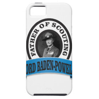 father of scouting lord baden powell iPhone 5 cases