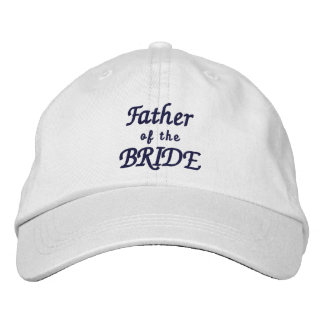 Father of the Bride Adjustable Hat Embroidered Hat