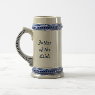 Father of the Bride Beer Stein