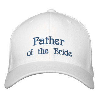 Father of the Bride... Broke Embroidered Baseball Cap