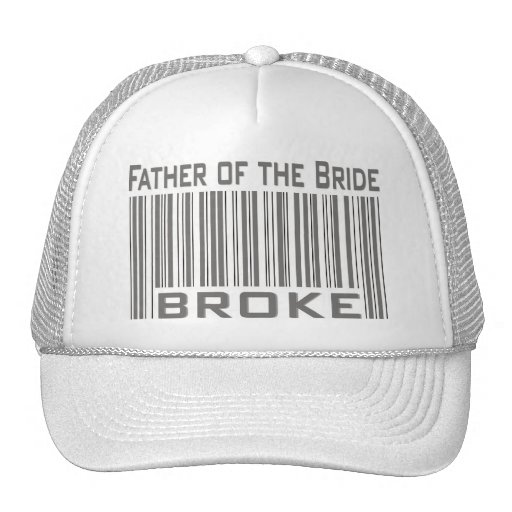 Father of the Bride Broke Mesh Hats