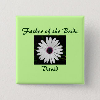 Father of the Bride Button