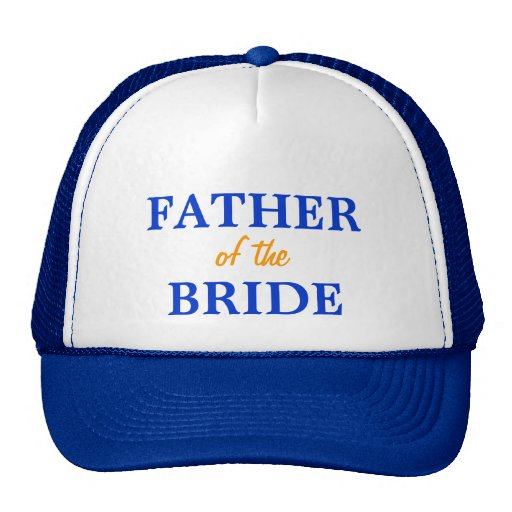 Father of the Bride cap Trucker Hat