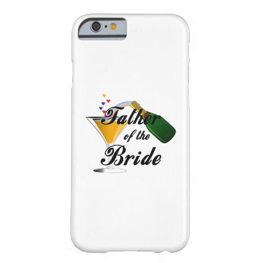 Father of the Bride Champagne Toast iPhone 6 Case