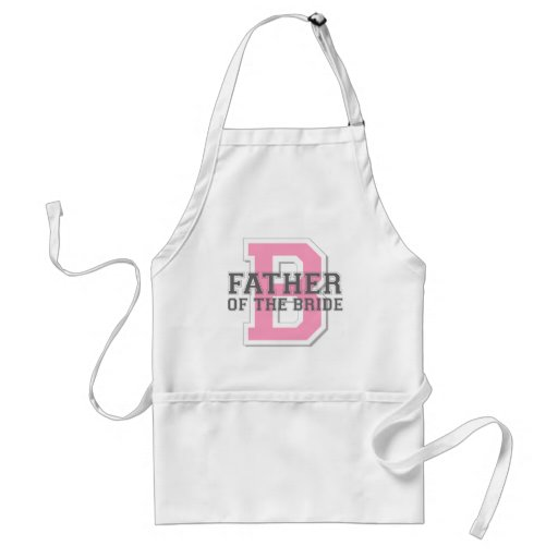 Father of the Bride Cheer Aprons