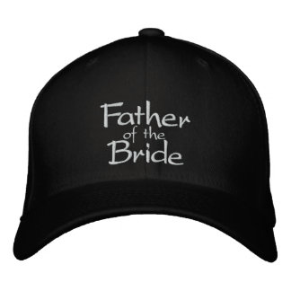Father of the Bride Embroidered Cap
