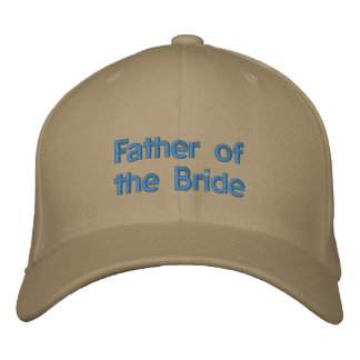 Father of the Bride Embroidered Baseball Caps