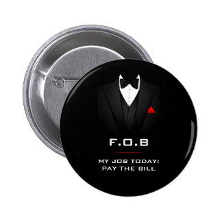 Father of the Bride Funny Customizable 6 Cm Round Badge
