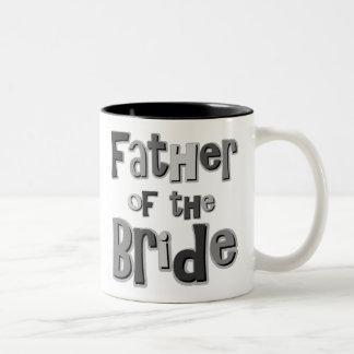 Father of the Bride Gray Coffee Mug