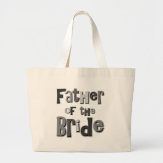 Father of the Bride Gray Bag