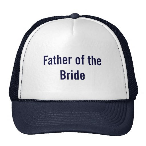 Father of the Bride Mesh Hat