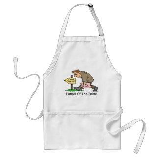 Father Of The Bride (poor house) Standard Apron