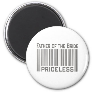 Father of the Bride Priceless 6 Cm Round Magnet