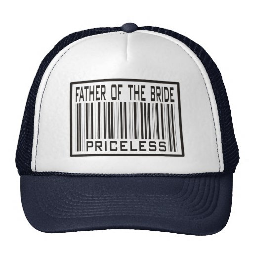 Father of the Bride Priceless Mesh Hats