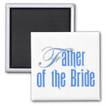 Father of the Bride Square Magnet
