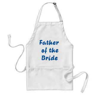 Father of the Bride Standard Apron