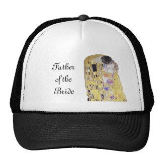 Father of the Bride The Kiss Klimt Theme Wedding Cap