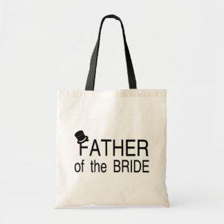 Father Of The Bride Top Hat Tote Bag