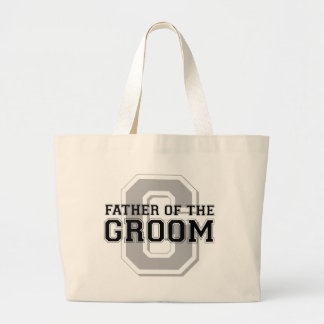 Father of the Groom Cheer Jumbo Tote Bag