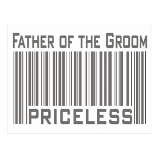 Father of the Groom  Postcard