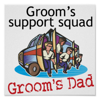 Father of the Groom Print