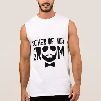 Father Of The Groom Sleeveless Shirt