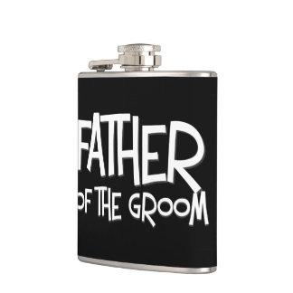 Father of the Groom Wedding Gift Flask