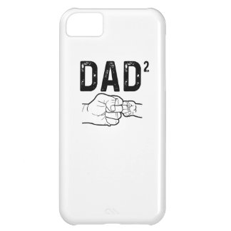 Father Of Two Daughters Or Sons Mens Fathers Day T iPhone 5C Case