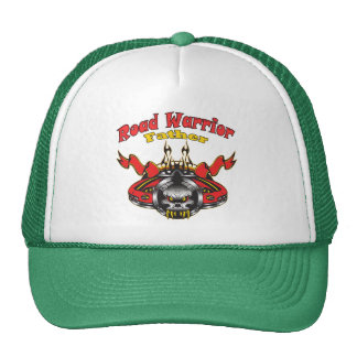 Father Road Warrior Racing Gifts Trucker Hat