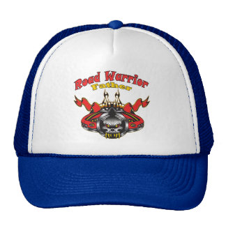 Father Road Warrior Racing Gifts Mesh Hats