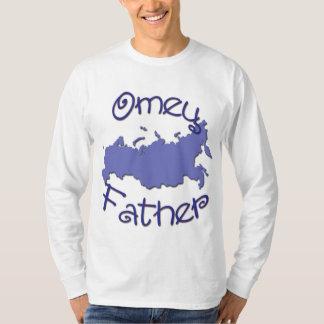 Father (Russian) Map T-Shirt