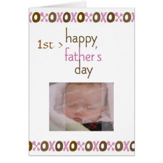 Father s Day 1st Photo Card