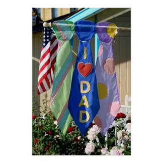 Father s Day Banner Poster