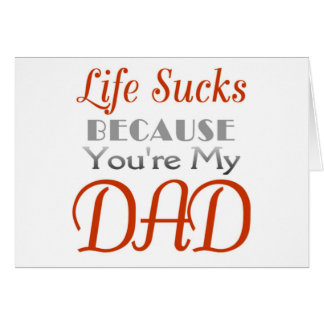 Father s Day funny statement Card