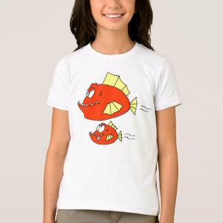 Father & Son: Fish Cartoon T-Shirt