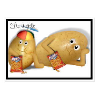 Father & Son Spuds Pack Of Chubby Business Cards