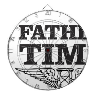 father time clock dart boards