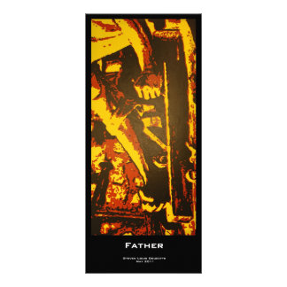 """Father"" Value Bookmarks Rack Card"