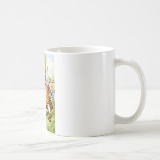 Father WIlliam Balances an Eel in Wonderland Coffee Mug