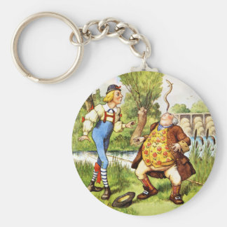 Father William Balances an Eel on His Nose Key Ring