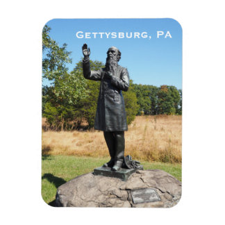 father William Corby statue in Gettysburg PA Rectangular Photo Magnet